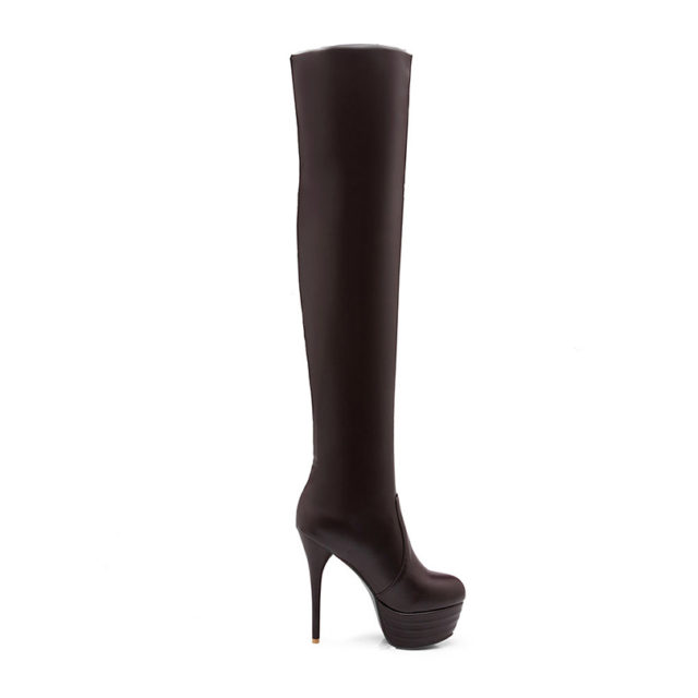 Dominatrix Over the Knee Boots