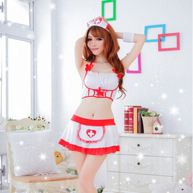 Women's Sexy Nurse Costume for Role Play